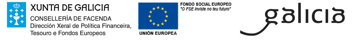 Xunta de Galicia - Fondo Social Europeo